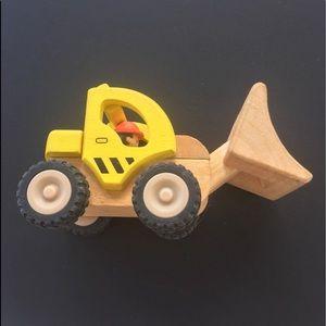 POTTERY BARN KIDS WOOD CONSTRUCTION LOADER